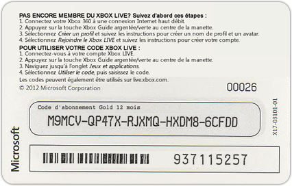 Xbox Live Gift Cards Free - Gift Ideas