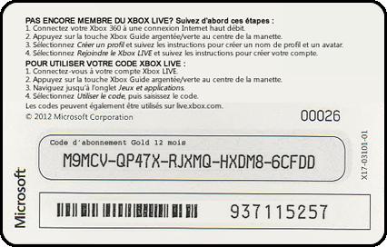 free xbox live codes 2016 list